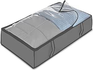 Whitmor Underbed Storage Bag, Grey