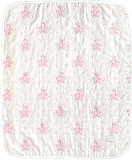 SOULEIADO 6重纱布口水巾/小方巾 粉色