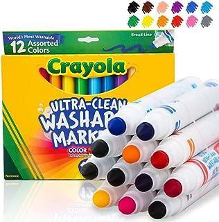 Crayola 繪兒樂 12支 潔凈可清洗馬克筆