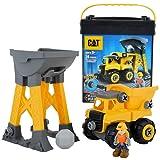 CAT 卡特彼勒 建筑拼装工程车组合 实习机器制造者系列套装(所有零件可组装成三种车型,但一次只能拼装成一个车型) CATC80951(尺寸:16.51*45.72*25.08cm)