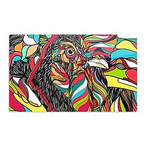 "KESS InHouse Danny Ivan""热带*""艺术铝磁铁,5.08 厘米 x 7.62 厘米,多色"
