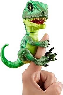 无束缚的Raptor - 系列 2 - Fingerlings - 互动收藏式恐龙 - WowWee 出品 Hazard (Green) Hazard (Green) - By Wowwee