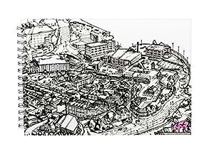 Pink Pig A4 横向   封面白色墨盒,35 页   kwills,艺术家系列 Planet Barnsley