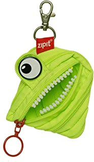 ZIPIT 怪物铅笔盒 零钱包 莱姆绿