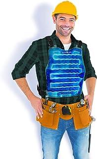 AlphaCool 原装冷却冰背心男女皆宜 - 可重复使用的柔性冷却背心带可调节肩带 - 均码背心适用于*热天气户外工作