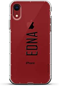 Luxendary Air 系列透明硅胶外壳LUX-I9AIR-NMEDNA2 NAME: EDNA, MODERN FONT STYLE 透明
