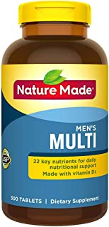 Nature Made Multi for Him - 300 Tablets 萊萃美 男士專用營養素 300 tablets Made in USA