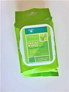 BOLERO BEVERLY HILL 水黄瓜和芦荟湿巾,不含防腐剂,不含上色 - 30片