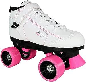 Pacer GTX-500 Quad Roller Skates 滑板鞋 Mens 7/Ladies 8 白色 P-217