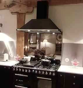 不锈钢防溅盖烹饪/烹饪帽 - 镜面抛光不锈钢