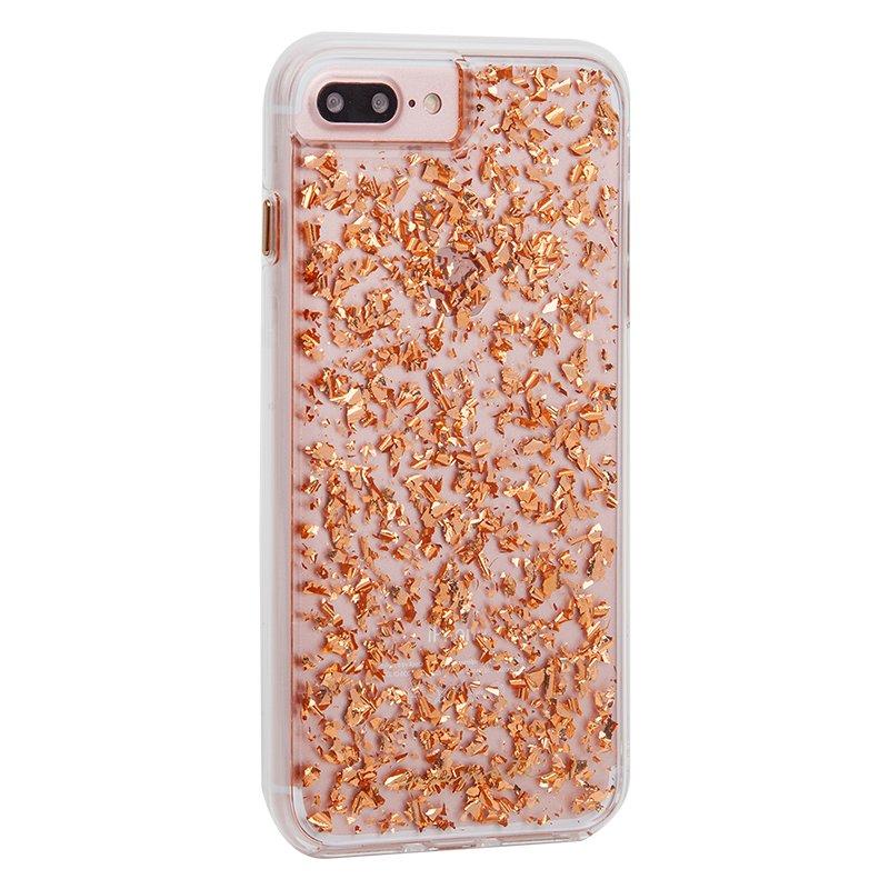 カス透明ローズゴールドダブルドロップ抵抗保護アップルiPhone7プラス/ 6プラス/ 6Sプラスの携帯電話のシェル保護スリーブを電子メイト