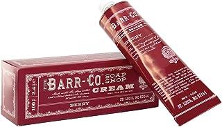 Barr Co 手部和身体乳木果油霜,3.4 盎司管装,BERRY #18 (1)