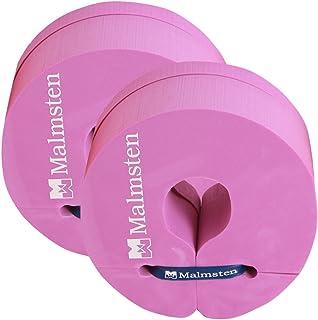 Malmsten 儿童 Flipper D2 M 儿童幼童泡沫浮子圆盘,学习游泳套装,游泳训练辅助,紫色,中号
