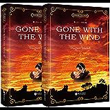 世界经典文学名著系列:飘 Gone with the Wind (全英文版)(套装共2册) (English Edition)