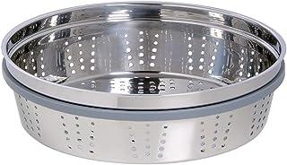 Staub 1199200 铸铁蒸汽插入器,3.25 夸脱,不锈钢