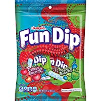 LIK-M-AID Fun Dip Cherry Yum Diddly and Razz Aapple Magic Pouch, 3.01 Ounce (Pack of 12)