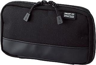 LIHIT LAB. 喜利 smart fit 学生笔袋 便携式文具盒收纳包A-7687商务收纳袋 #24黑色