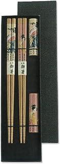 CtoC JAPAN Select 筷子 浮世绘 22.5cm 情侣 夫妻 筷子 2双 套装 浮世绘 CTCG158 2双装