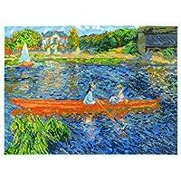 DMC BL1068/71 16 件装 Renoir Skiff 数十字绣套装,30.48 x 22.86 厘米,多色