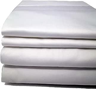 quahog BAY 床上用品美国 Maine 制造 cinchfit 双人床/双人床 XL 床单套象牙色3PC 100% 棉质适合家庭可调节船 & RV 床垫50.8cm 床