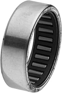 Uxcell Drawn Cup Caged Drawn Cup Needle Roller Bearing, 37mm x 30mm x 12mm