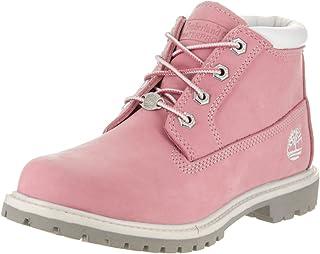 Timberland 女士 Nellie 双层防水踝靴