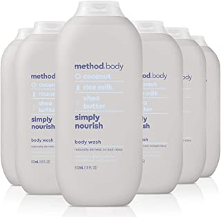 Method Experiential 沐浴露,6只装 Simply Nourish 6份