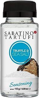 Sabatino Tartufi Truffle Salt Seasoning Shaker,All Natural Gourmet Truffle Salt, Sicilian Sea Salt,Kosher, Non-Gmo Project...