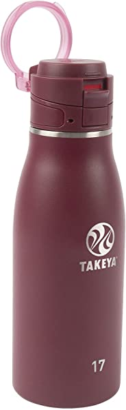 Takeya 旅行马克杯 暗红色(Merlot) 17 盎司