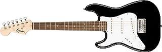 Fender 6 弦纯色电吉他,左,黑色 (0370123506)