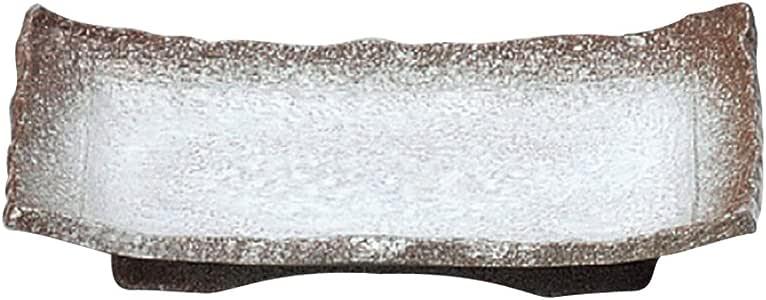 山下工艺(Yamasita craft) 伊贺白吹 带海滨 烤盘 14×24×4cm 11477300