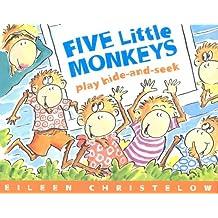 Five Little Monkeys Play Hide and Seek (A Five Little Monkeys Story) (English Edition)