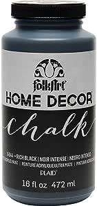 FOLKART Home Decor Chalk, 16 oz, Rich Black
