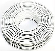 扬声器线50米 – 2 x 2,5mm2 – *** CCA 铜色 ; 音频线 白色