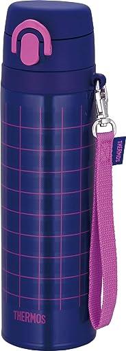 膳魔师 THERMOS 真空隔热便携式水杯 JNT-551 藏青色 粉色 0.55L JNT-551 NV-P