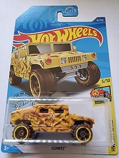 Hot Wheels 2020 Hw Art Cars Humvee,黄色 161/250