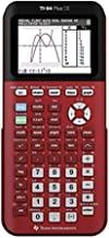 Texas Instruments TI-84 Plus CE 彩色圖形計算器 紅色