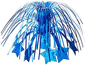 "AMERICAN CELEBRATIONS 180g Balloon Weight Centerpiece, 6"", Royal Blue"