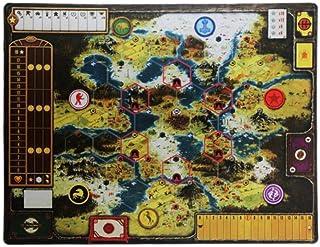 彩色游戏垫Scythe 棋盘游戏垫 36 英寸 x 28 英寸