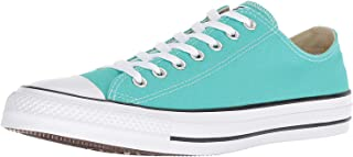 Converse 匡威 成人CTAS Seasonal-ox-White 单色中性运动鞋 Pure Teal 47 EU M