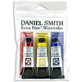 Daniel Smith Extra Fine Primary 水彩套装,3 管,15 毫升 多种颜色 15 ml 285250066