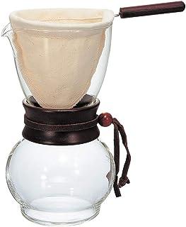 HARIO 好璃奥 原装进口咖啡壶 木制手柄 3-4杯用 DPW-3