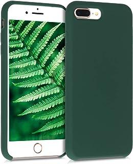 kwmobile TPU 硅胶手机壳与苹果 iPhone 7 Plus / 8 Plus 兼容 - 柔软弹性橡胶保护套 - 霓虹粉40842.169_m000590  苔*