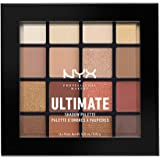 NYX Professional Makeup Ultimate Shadow Palette幻彩16色眼影盘,Warm Neutrals,温暖大地色