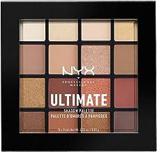 NYX Professional Makeup Ultimate Shadow Palette幻彩16色眼影盤,Warm Neutrals,溫暖大地色
