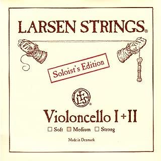 Larsen 4/4 Cello Soloist A 和 D 组合装中号规格