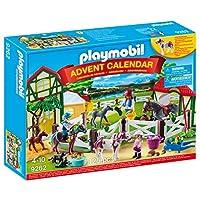 PLAYMOBIL® Advent Calendar-Horse 农场玩具套装,多色