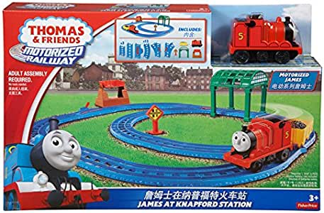 Thomas & Friends 托马斯和朋友 电动玩具系列之双环轨道套装BGL97(两种包装 随机发货)