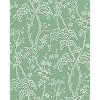 A-Street Prints 2764-24352 Bonsai 绿树壁纸