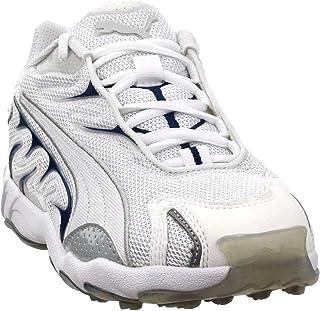 PUMA Men's Inhale Running Shoes White/Grey Violet